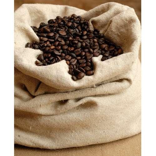 Kaffeesack aus Jute mit Aufdruck