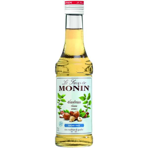 Monin Sirup Haselnuss Light zuckerfrei 250 ml