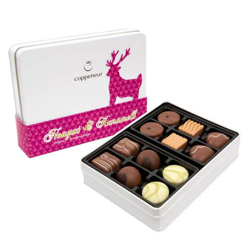 Coppeneur Pralinen Winter Sonderedition Nougat & Karamell 145 g