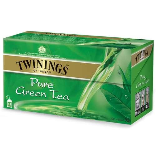 Twinings Grüner Tee Pure Green 25 Teebeutel