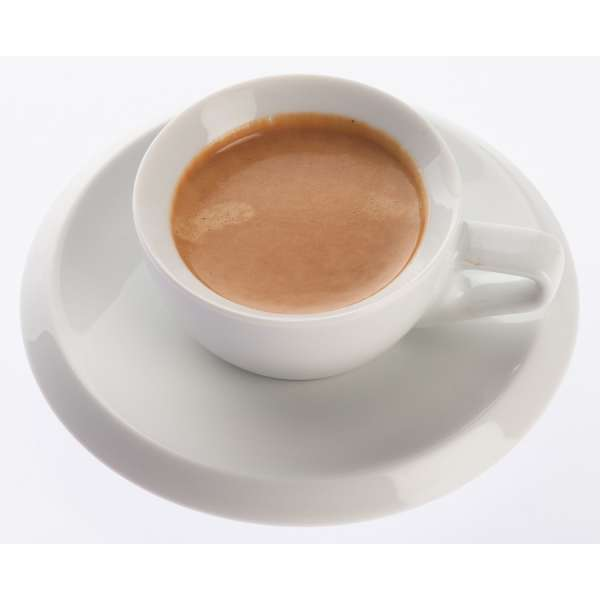 Walküre Serie rossi Espressountertasse weiß