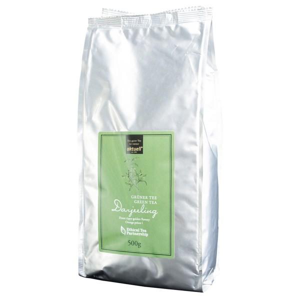 aktuell Darjeeling FTGFOP1 Grüner Tee 500 g