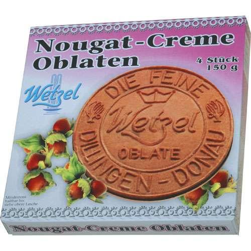 Wetzel Nougat-Creme Oblaten 150 g