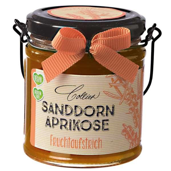 Sanddorn-Aprikose Fruchtaufstrich von Collier 225g