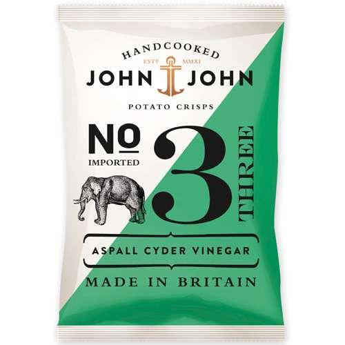 John & John Chips Aspall Cyder Vinegar 150 g