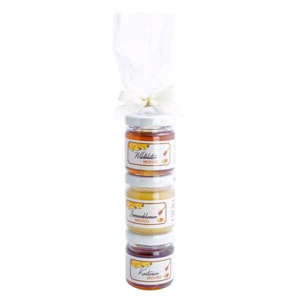 Honig Romanze 3er Türmchen von Collier 3 x 50 g