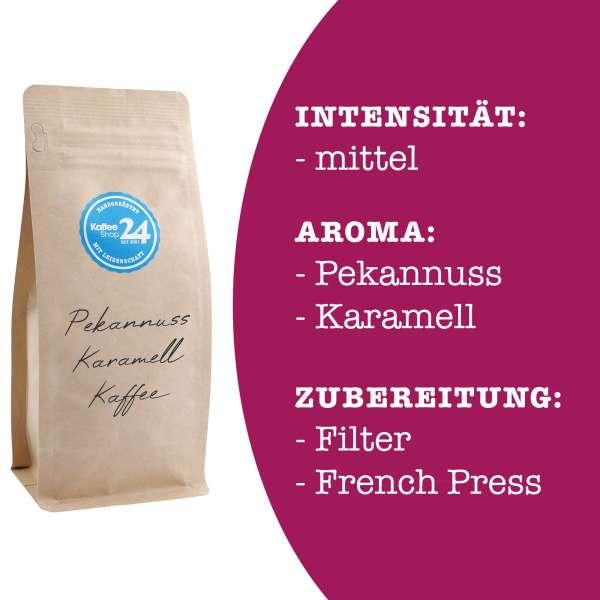 Pekannuss-Karamell Kaffee