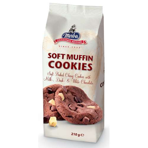 Merba Soft Muffin Cookies 210 g