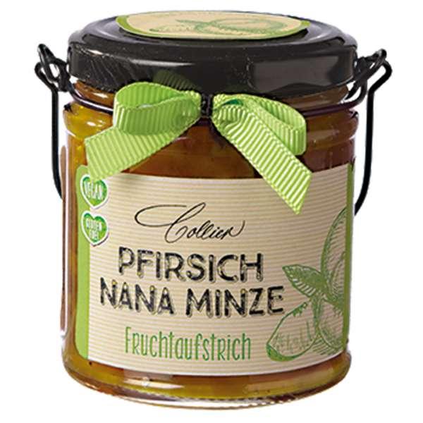 Collier Fruchtaufstrich Pfirsich Nana-Minze 225g