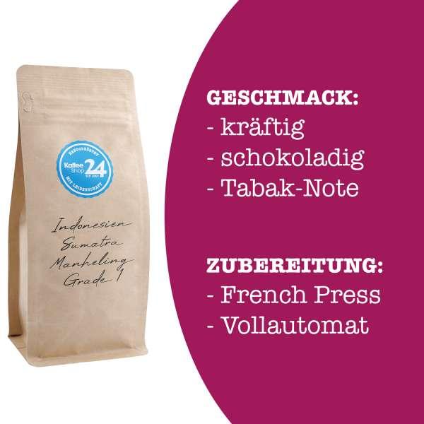 Indonesien Sumatra Mandheling Kaffee Grade 1