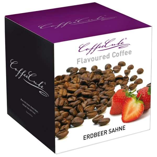 CoffeeCube Erdbeer Sahne Kaffee gemahlen 200 g