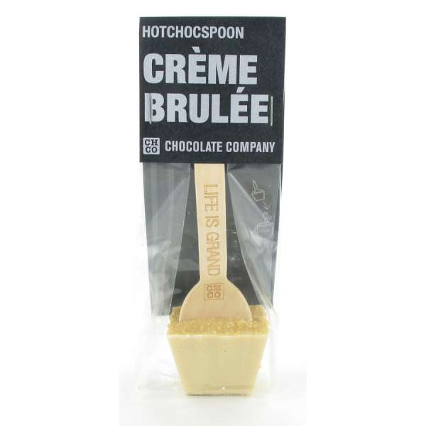 HOTCHOCSPOON Creme Brulee Weiss 50 g