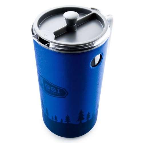 GSI Outdoors JavaPress Kaffeebereiter blau 1,48 Liter