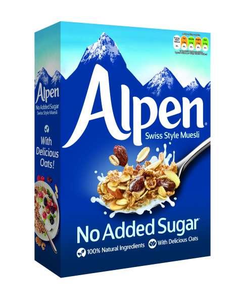 Weetabix Alpen Müsli ohne Zuckerzusatz 560 g