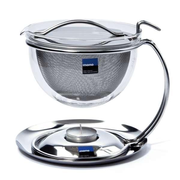 mono filio Teekanne mit integr. Stövchen 0,6 Liter