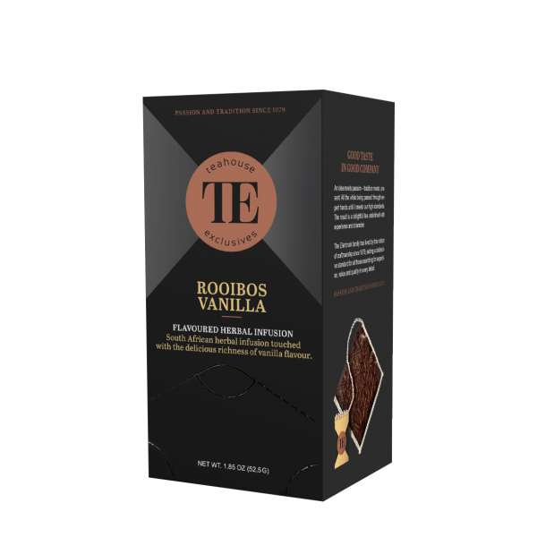 TE Luxury Tea Bag Rooibos Vanilla 15 Teebeutel 52,5 g