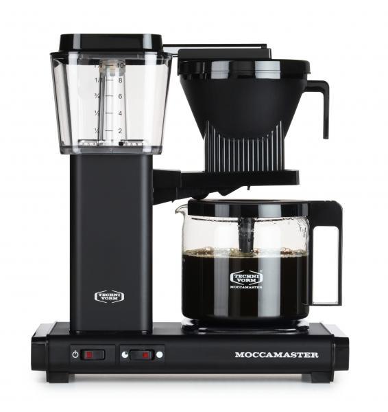 Moccamaster Filterkaffeemaschine KBG741 AO matt schwarz