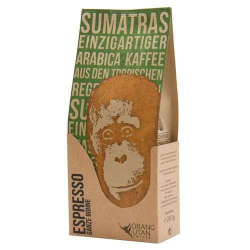Orang-Utan Sumatra Arabica Espresso Bohne 250 g