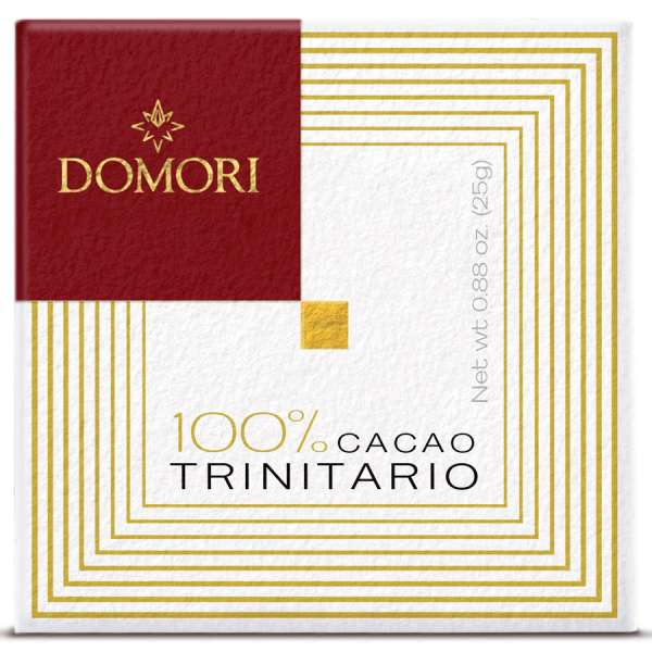 Domori Schokolade TRINITARIO 100 % 25 g