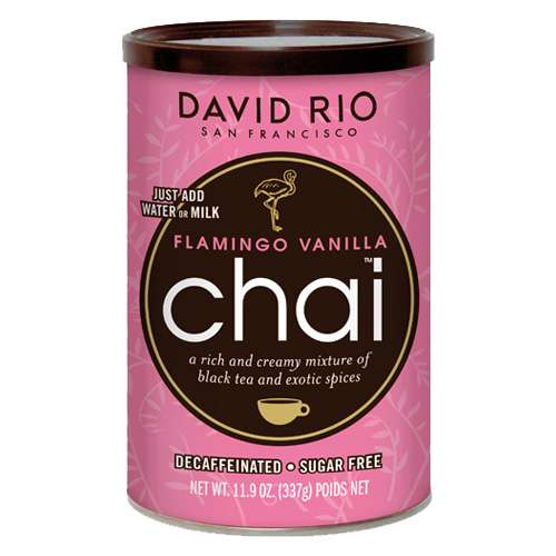 David Rio Flamingo Vanilla Decaf Chai zuckerfrei 337 g