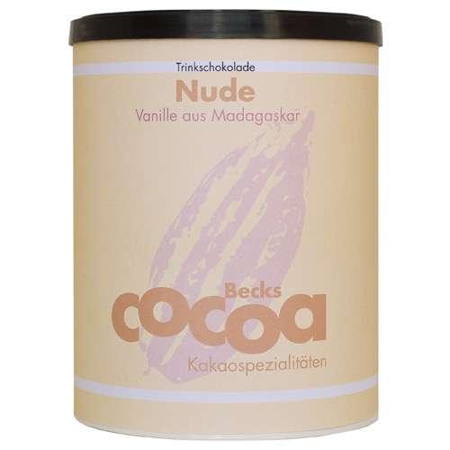 Becks Cocoa Trinkschokolade Nude Vanille Dose 250 g