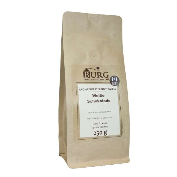 BURG Weiße Schokolade Kaffee