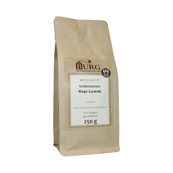 BURG Kopi Luwak Raritäten Kaffee
