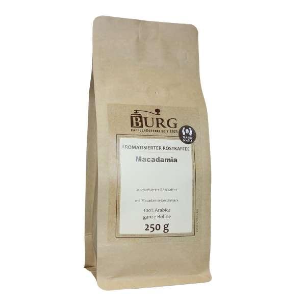 BURG Macadamia Kaffee aromatisiert