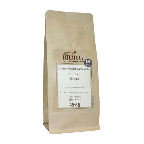BURG Schoko-Minze Kaffee aromatisiert