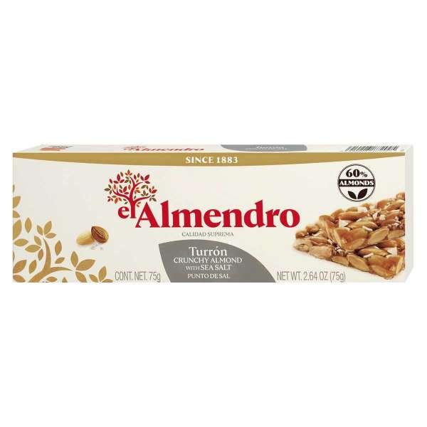 El Almendro Geröstete Mandeln in Salzkaramell 75 g