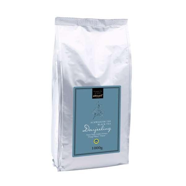 aktuell Darjeeling FTGFOP1 Classic Schwarzer Tee 1000 g