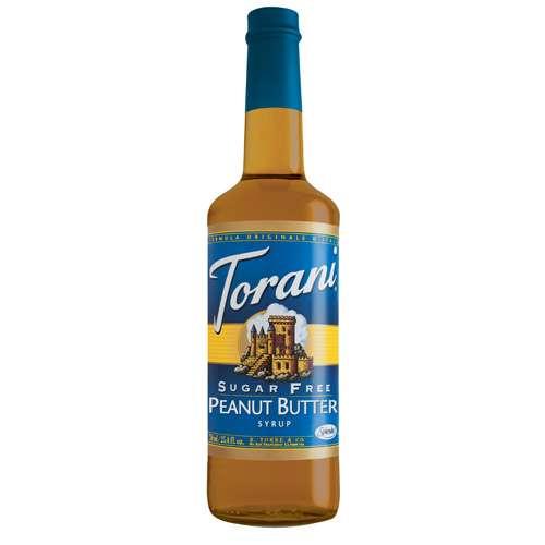Torani Sirup Erdnussbutter zuckerfrei 750 ml