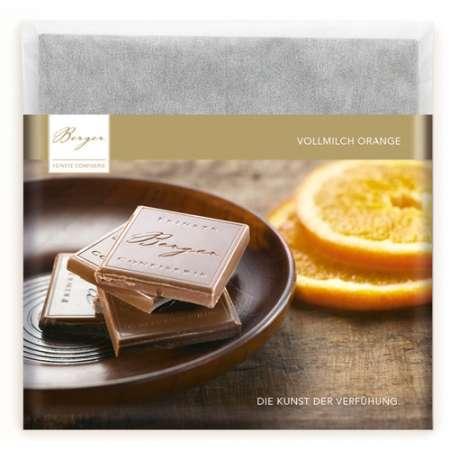 Berger Schokolade Vollmilch Orange 90 g