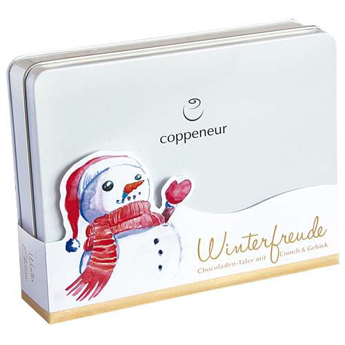 Coppeneur Schokoladen-Taler Collection Winterfreude 216 g