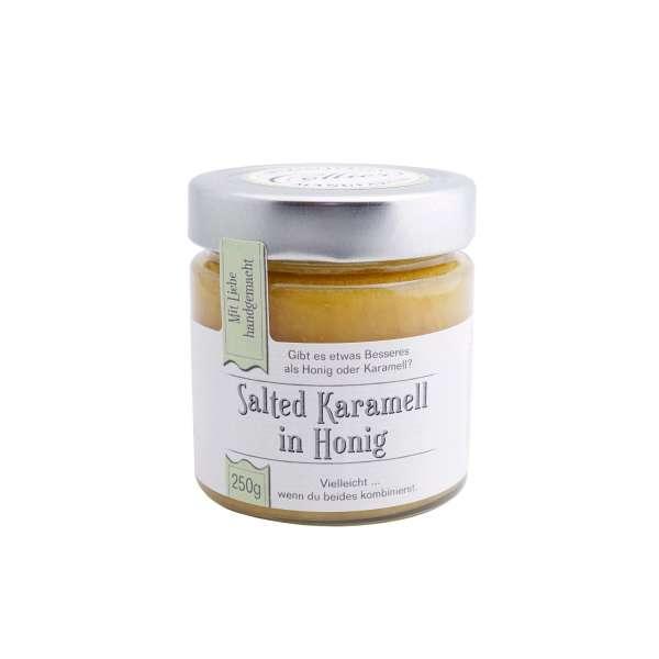 Salted Caramel in Honig - Salzkaramell von Collier 250g