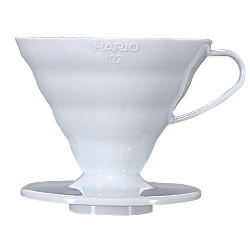 HARIO Kaffeefilter V60 Dripper Keramik weiß Größe 2