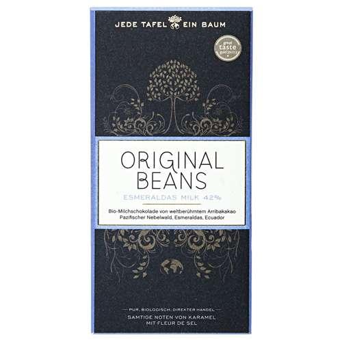 Original Beans Bio Schokolade Esmeralda Milk 42% 70 g
