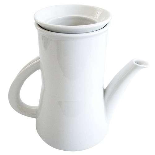 Walküre Kaffeemaschine Aromakanne weiß 0,35 Liter