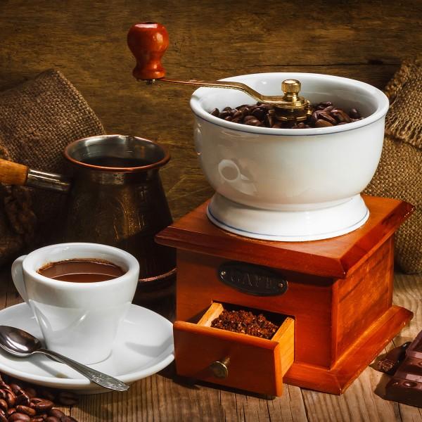 Kaffee-Mahlgrad-Kaffeemuehle