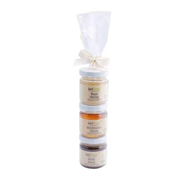 Honig Probierset - drei Sorten Honig von Collier 3 x 50 g