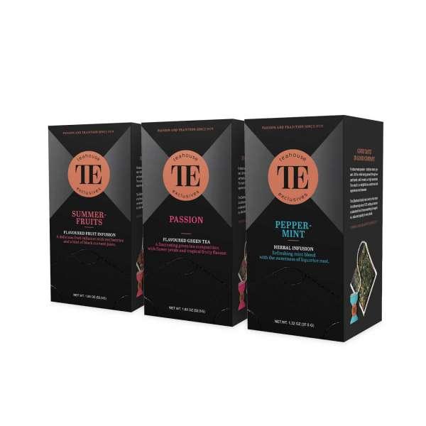 TE Luxury Tea Bag Tee 3er Set