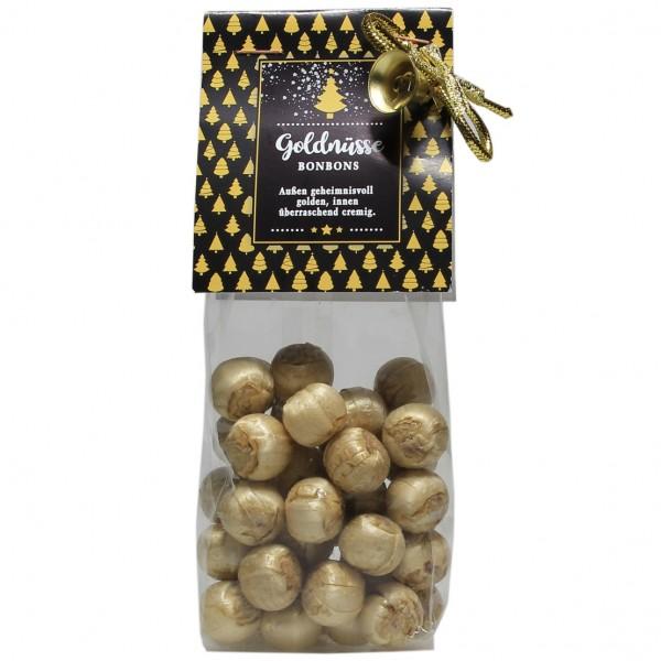 Goldnüsse Kugeln aus Bonbonmasse und Kakao 115 g