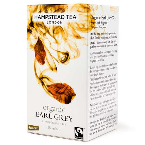 HAMPSTEAD TEA Bio Earl Grey 25 Teebeutel 50 g