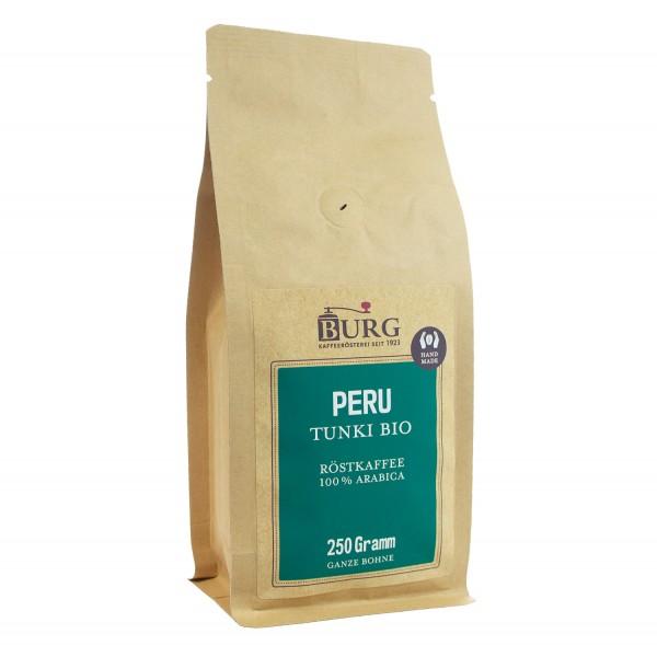 Peru Tunki Kaffee, Kaffeerösterei Burg