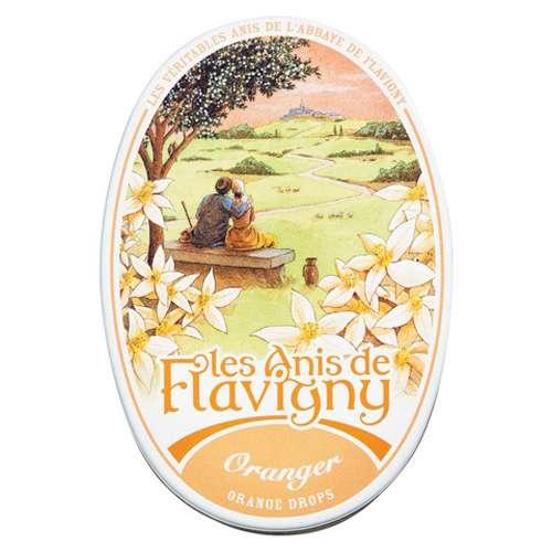 Les Anis de Flavigny Anisbonbons Orange 50 g