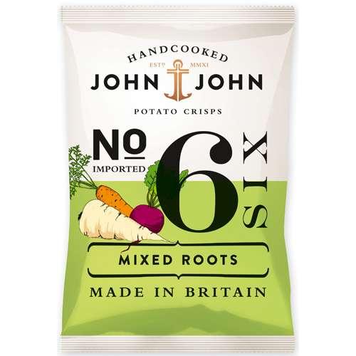 John & John Chips Mixed Roots 100 g
