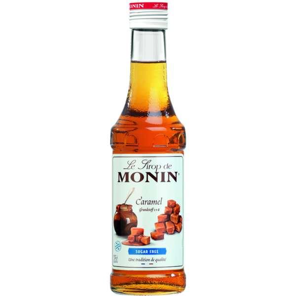 Monin Sirup Karamell Light zuckerfrei 250 ml