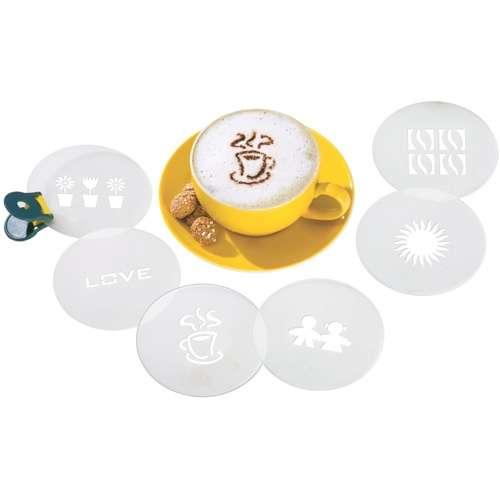 Birkmann Cappuccino-Schablonen II 6 Stück