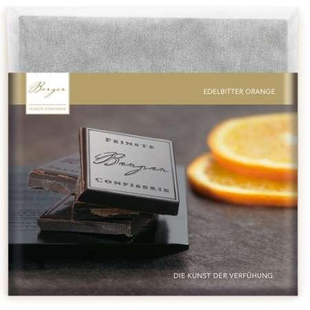 Berger Schokolade Edelbitter Orange 90 g