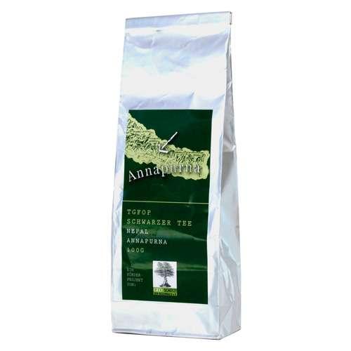 Annapurna TGFOP Schwarzer Blatt-Tee Nepal Tüte 100 g